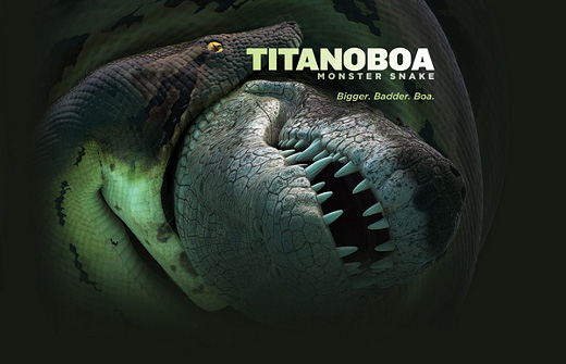 TITANOBOA MOSTER SNAKE