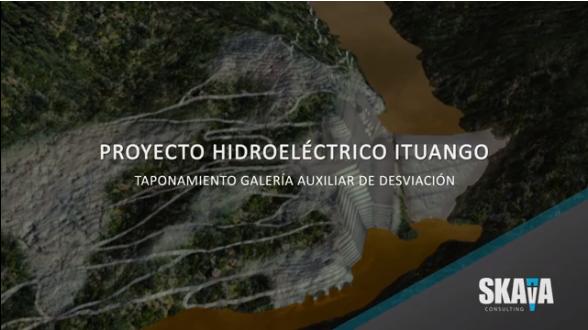 Animación de Hidroituango y lo que generó la emergencia en abril del 2018
