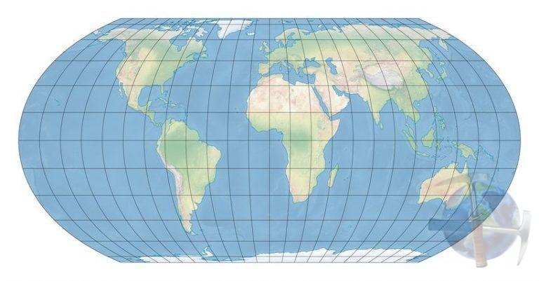 Proyección Equal Earth