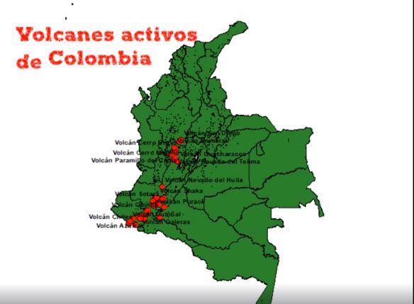 Volcanes de Colombia
