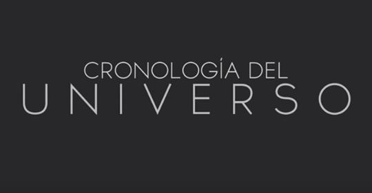 ANIMACIÓN – CRONOLOGÍA DEL UNIVERSO – ¿Sabias cual era la edad del universo?