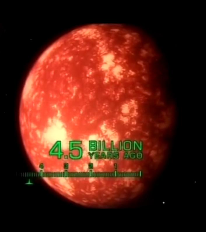 El origen del planeta Tierra