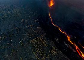 Volcán en Cumbre Vieja – La Palma